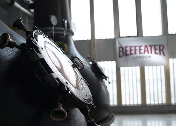 New visitor attraction at Beefeater Gin Distillery