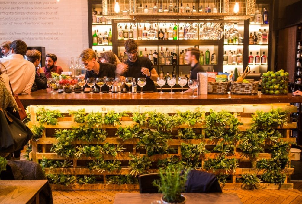 Fever-Tree launch popup Gin & Tonic bar in London
