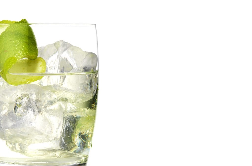 A heavyweight glass is the ideal tonic if you're serving cheap gin