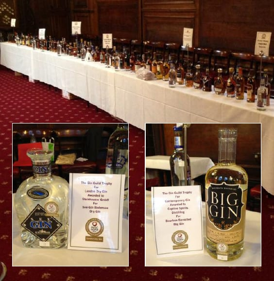 2014 IWSC Awards highlight growth of Gin sector