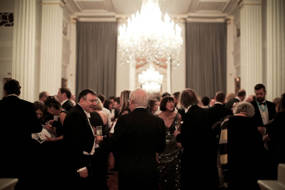 The Gin Guild welcomes new members at Mansion House Autumn Installation