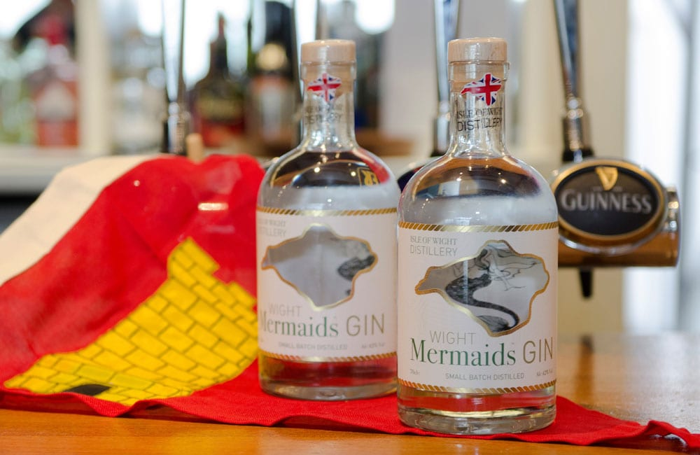 Mermaid Gin sponsors the Isle of Wight sailing event