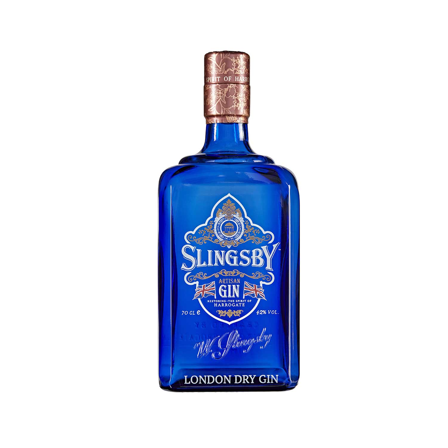 Slingsby London Dry Gin bottle 2021