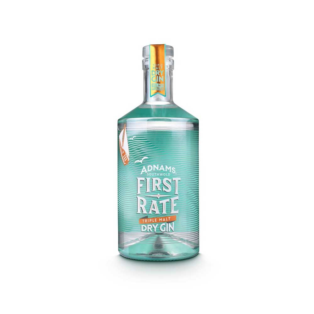 Adnams First Rate Gin Bottle - The Gin Guild