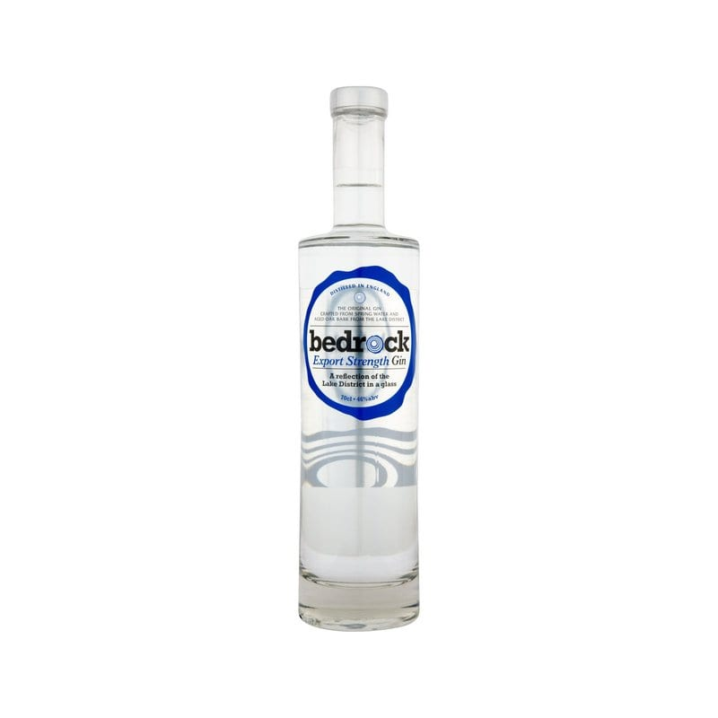 Bedrock Gin Export Strength