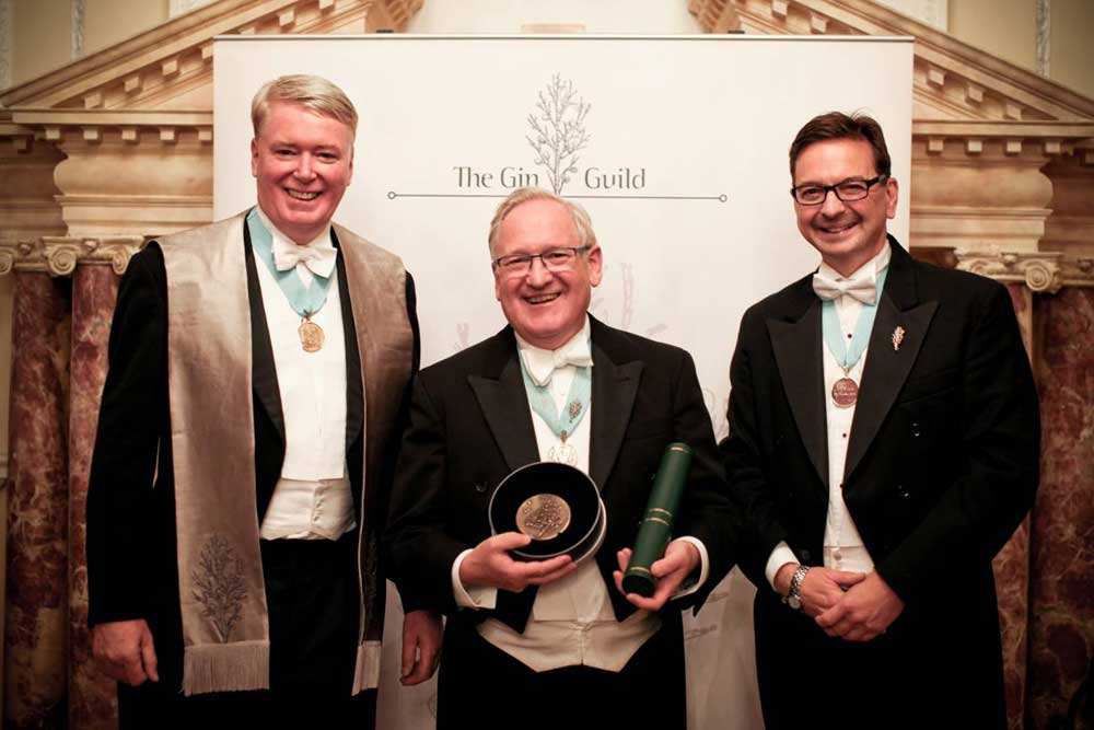 Desmond Payne MBE… For services to the British Gin Industry