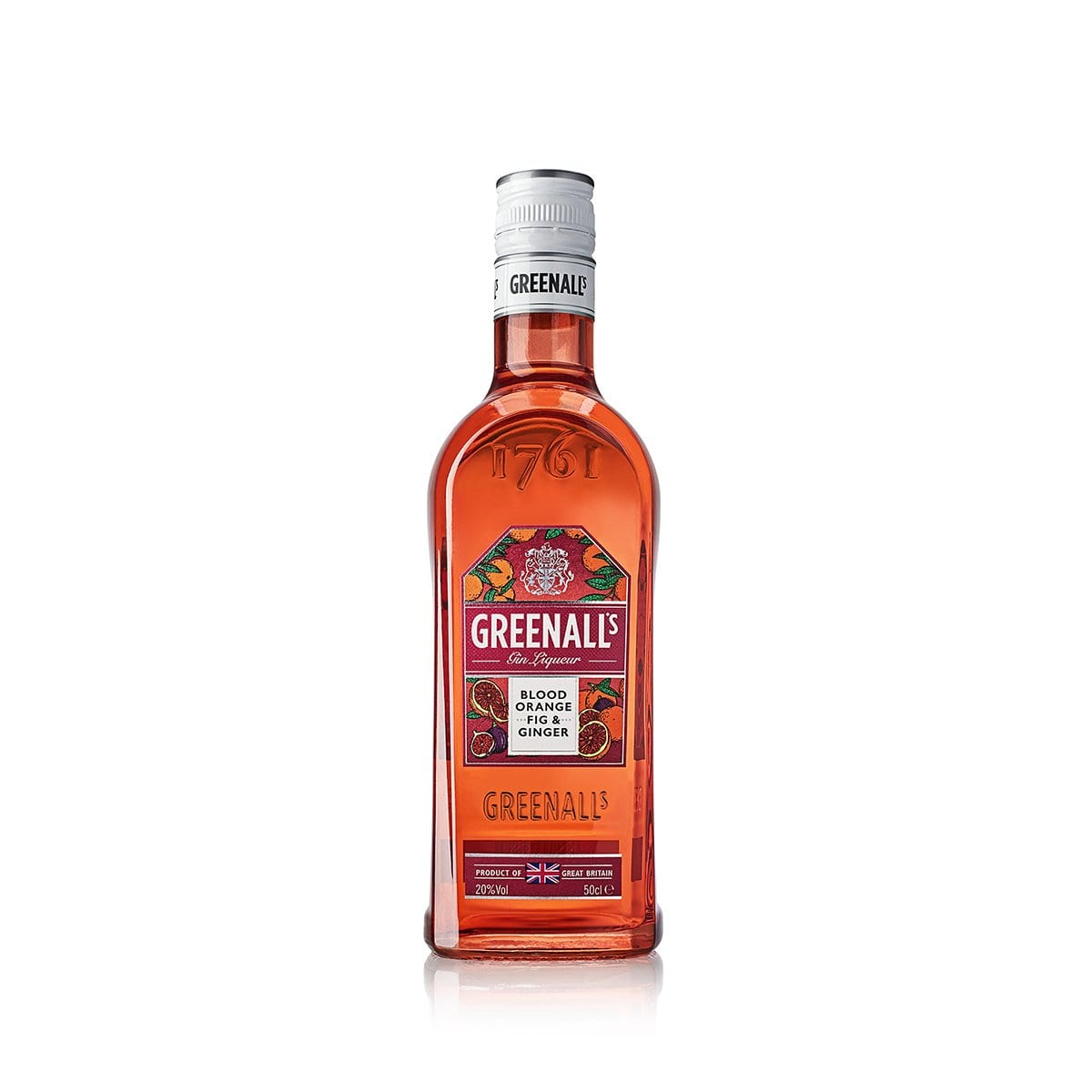 Greenall's Blood Orange, Fig & Ginger Gin Liqueur