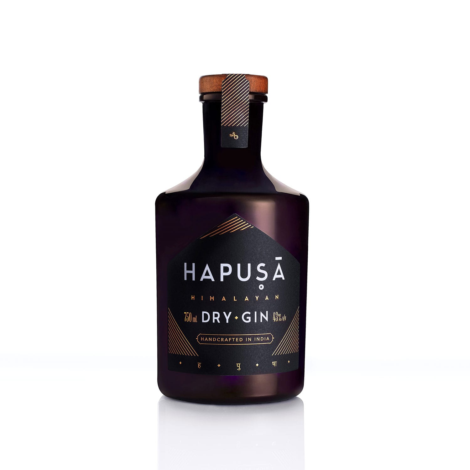 Hapusa Himalayan gin bottle - 2019 design