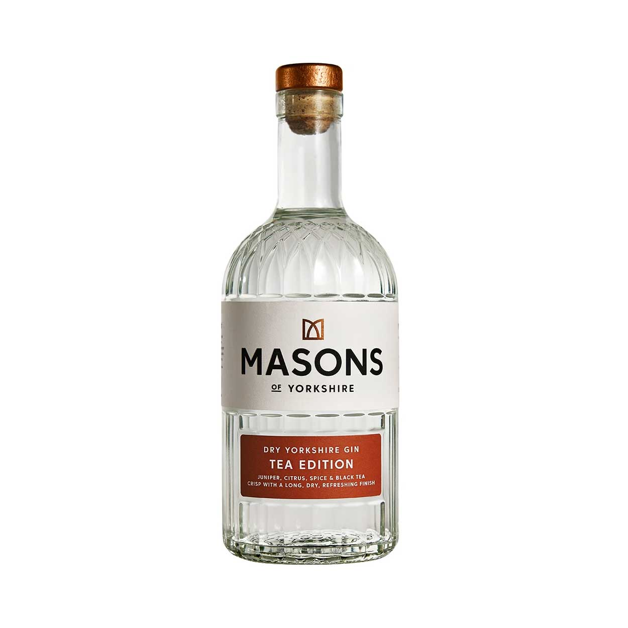 Masons of Yorkshire Tea Edition Gin Bottle