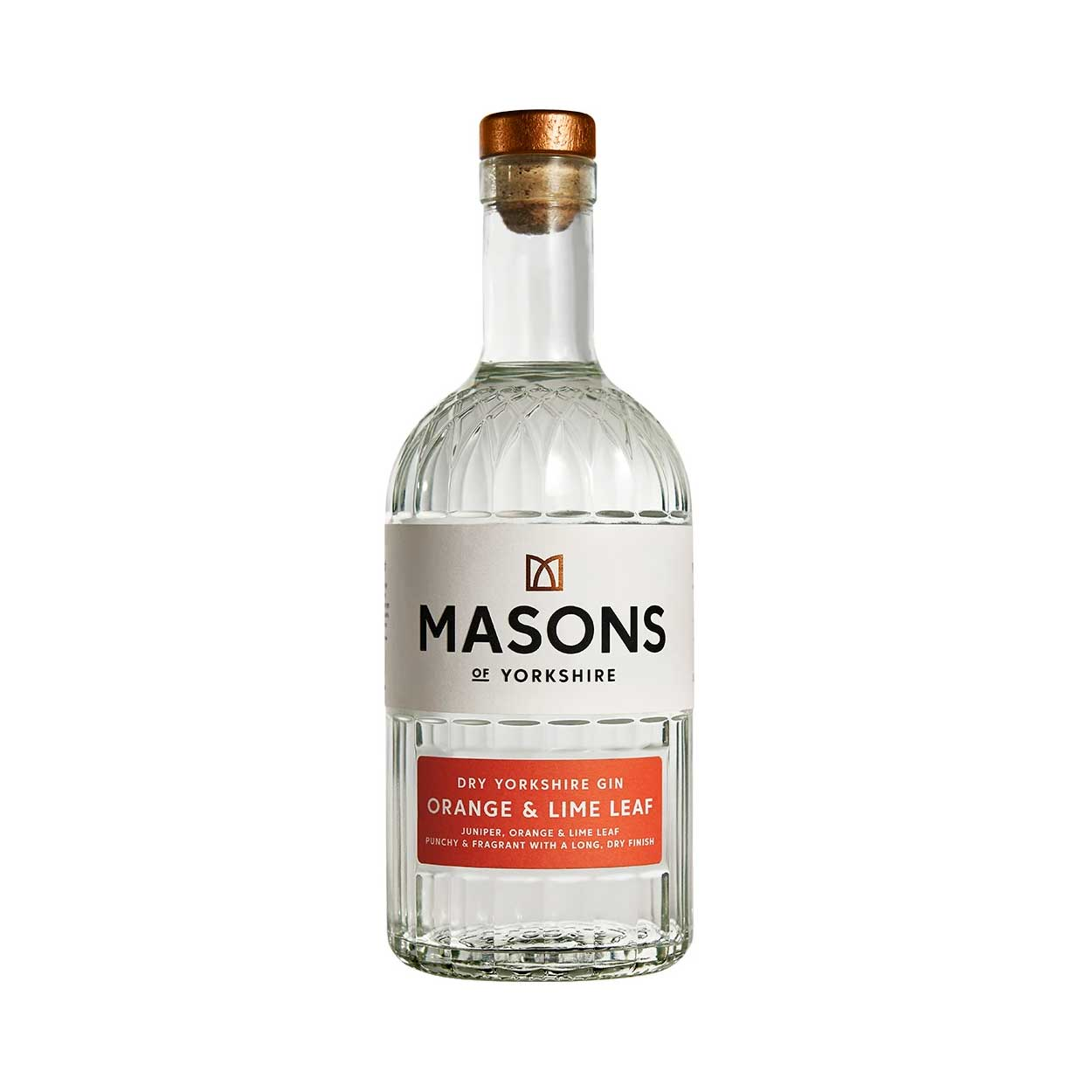 Masons Orange and Lime Leaf Yorkshire Gin Bottle