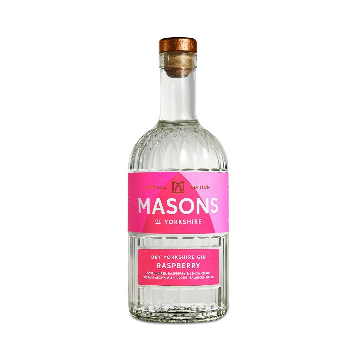 Masons Raspberry Gin Bottle 2021