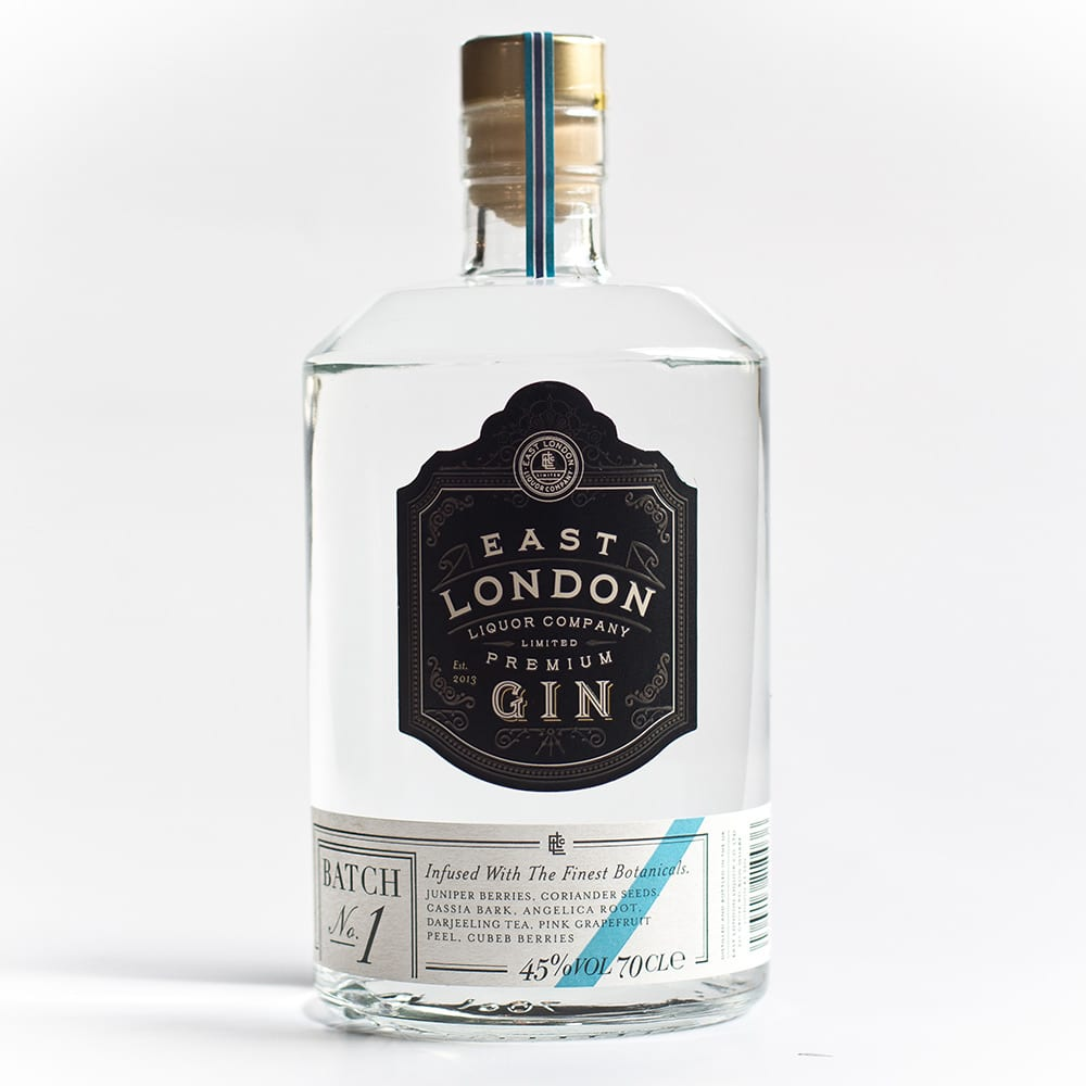 East London Premium Gin Batch No. 1