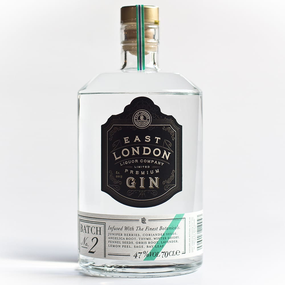 East London Premium Gin Batch No. 2