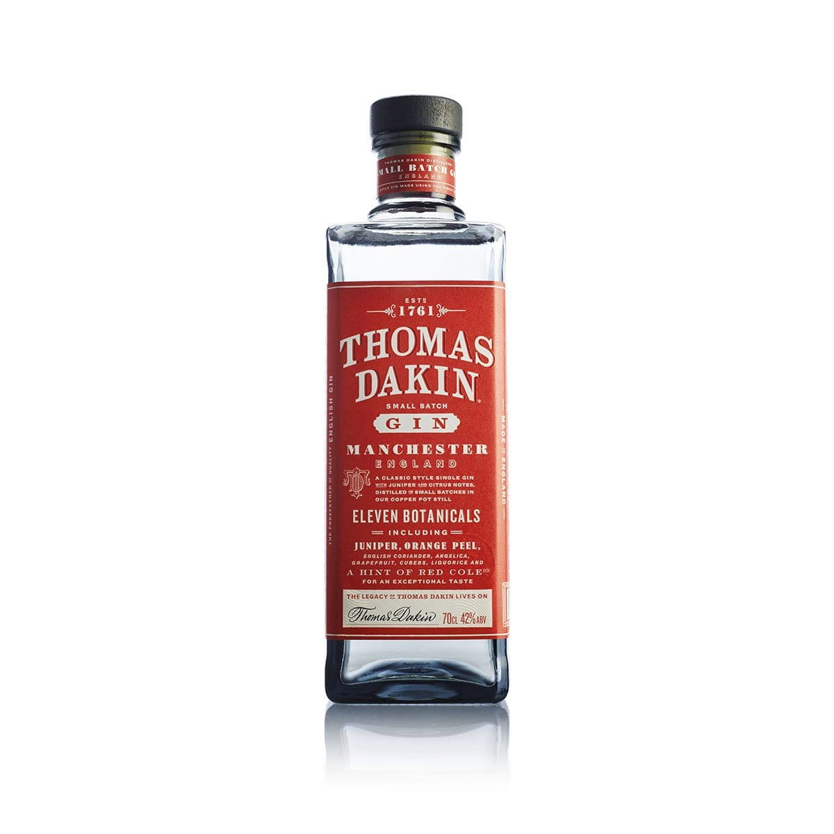 Thomas Dakin Gin Bottle