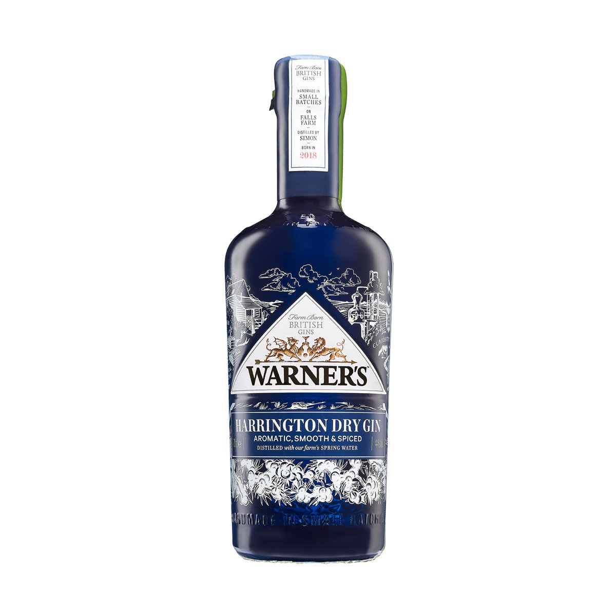 Warner's Harrington Dry Gin