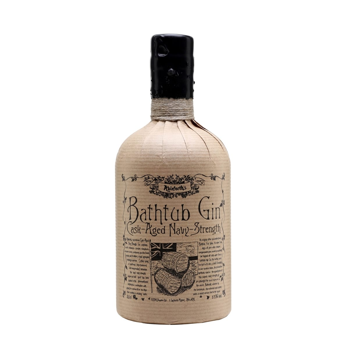 Bathtub Gin – Cask-Aged Navy-Strength