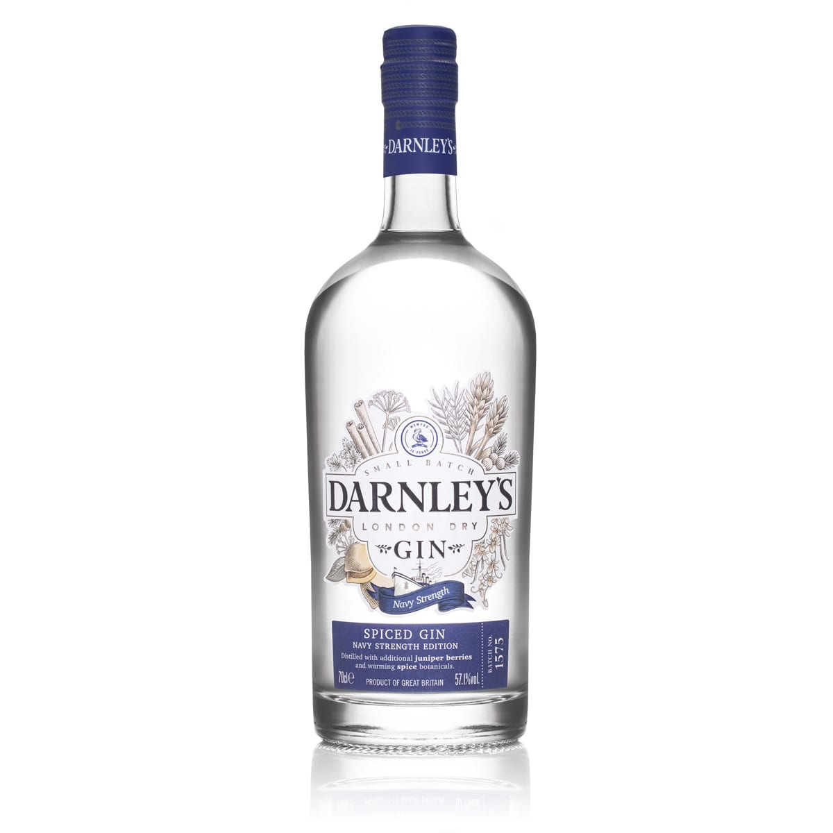 Darnley's Spiced Gin: Navy Strength Edition