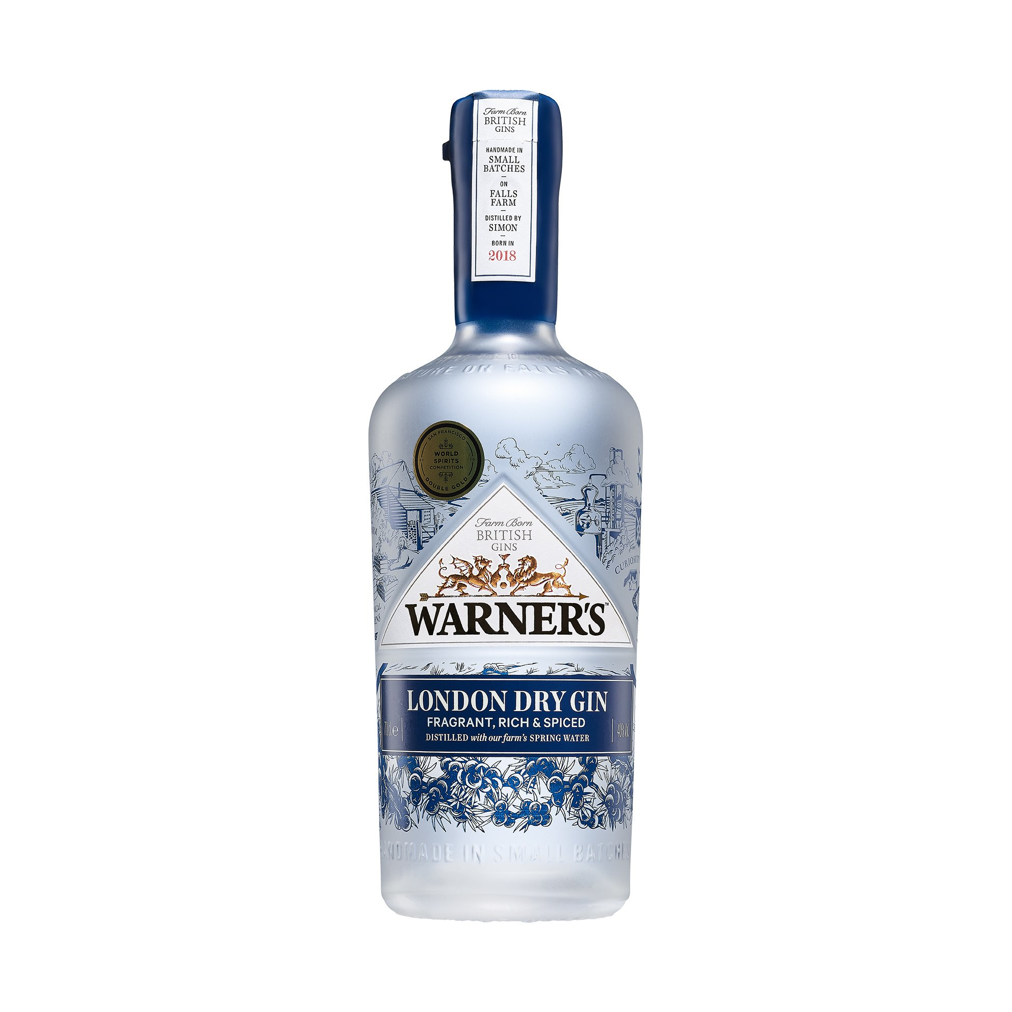 Warner's London Dry Gin