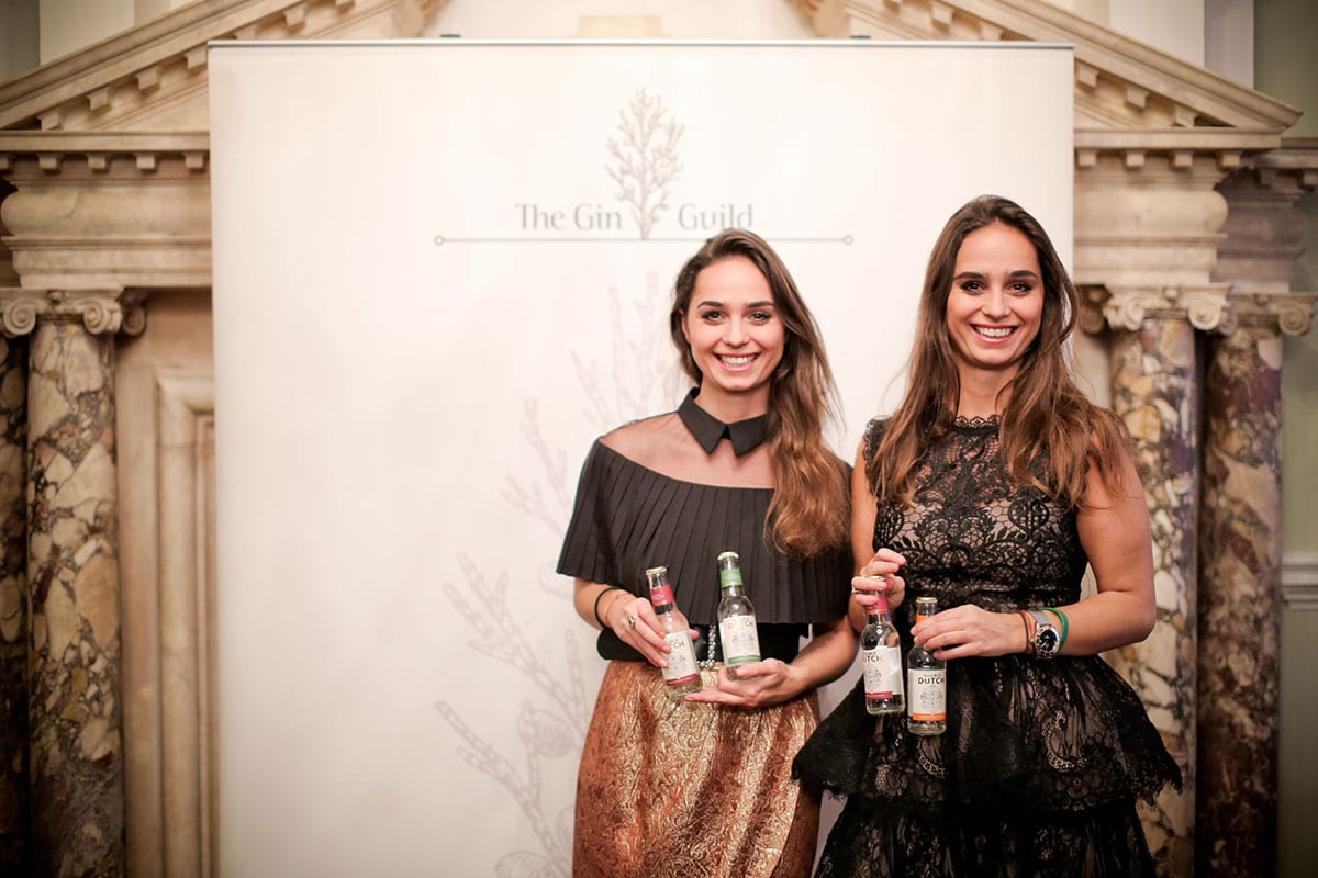 Joyce and Raissa de Hass from Double Dutch drinks who sponsored the mixers at the event