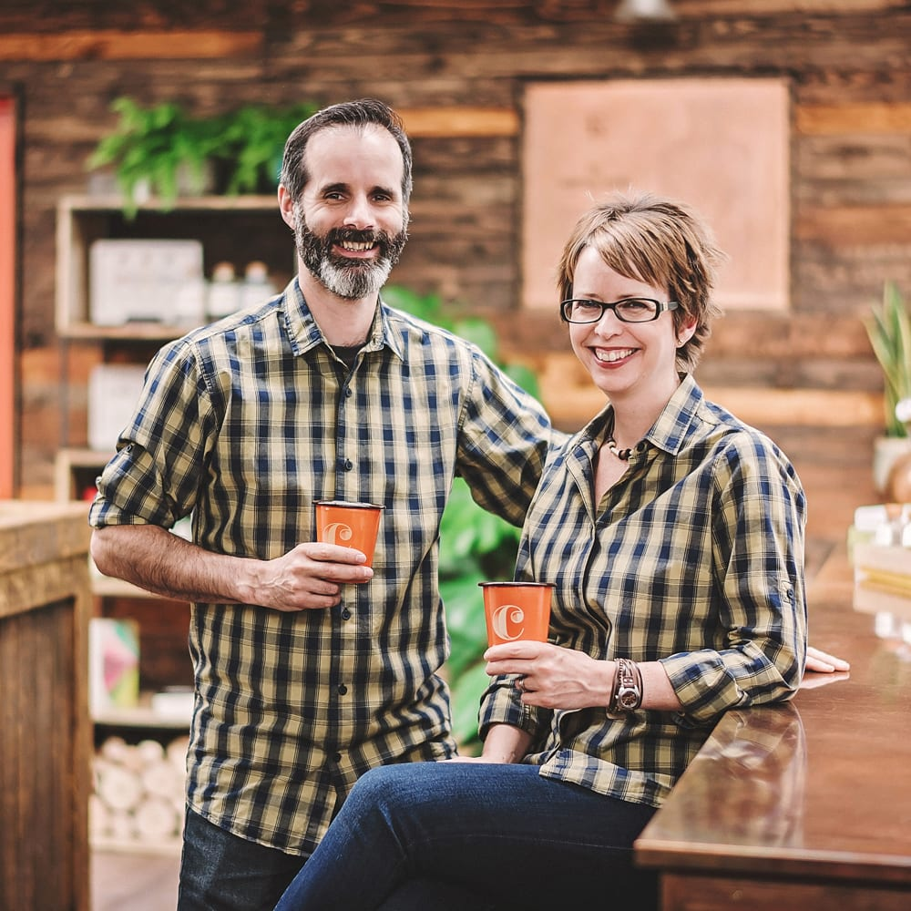 Kate & Ben Marston, Puddingstone Distillery
