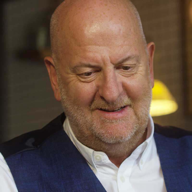 Russell Evans Bullards Gin Founder and Chairman