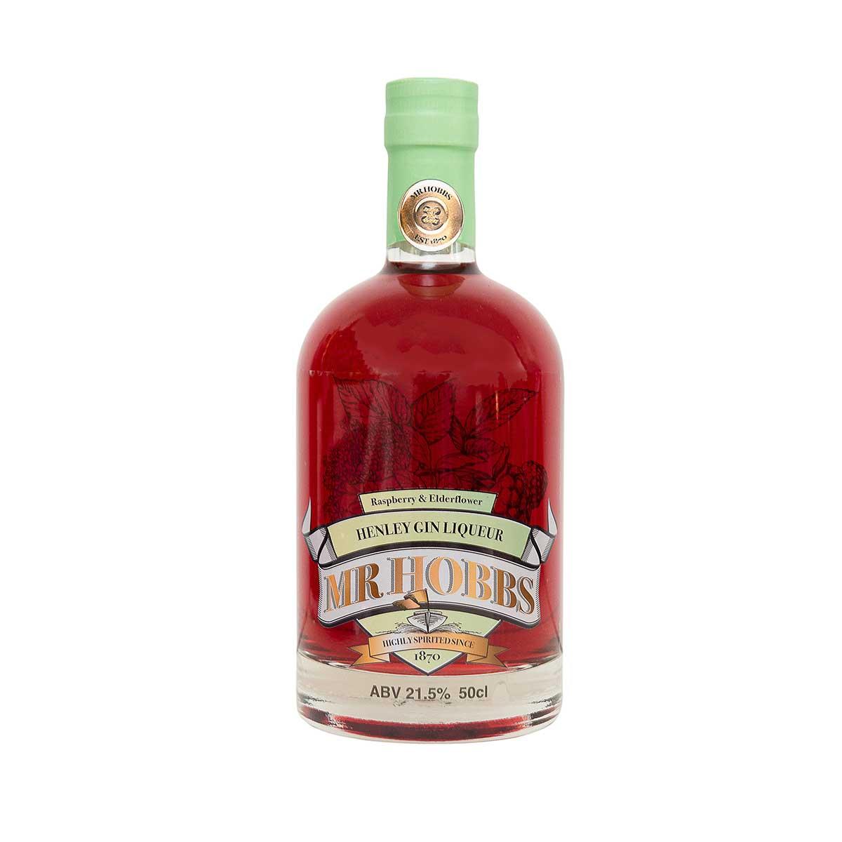 Mr Hobbs Raspberry & Elderflower Gin Liqueur