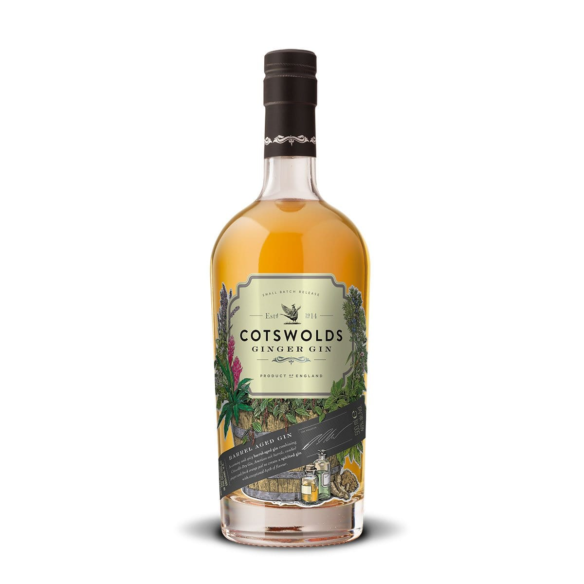 Cotswolds Ginger Gin from Cotswold Distillery
