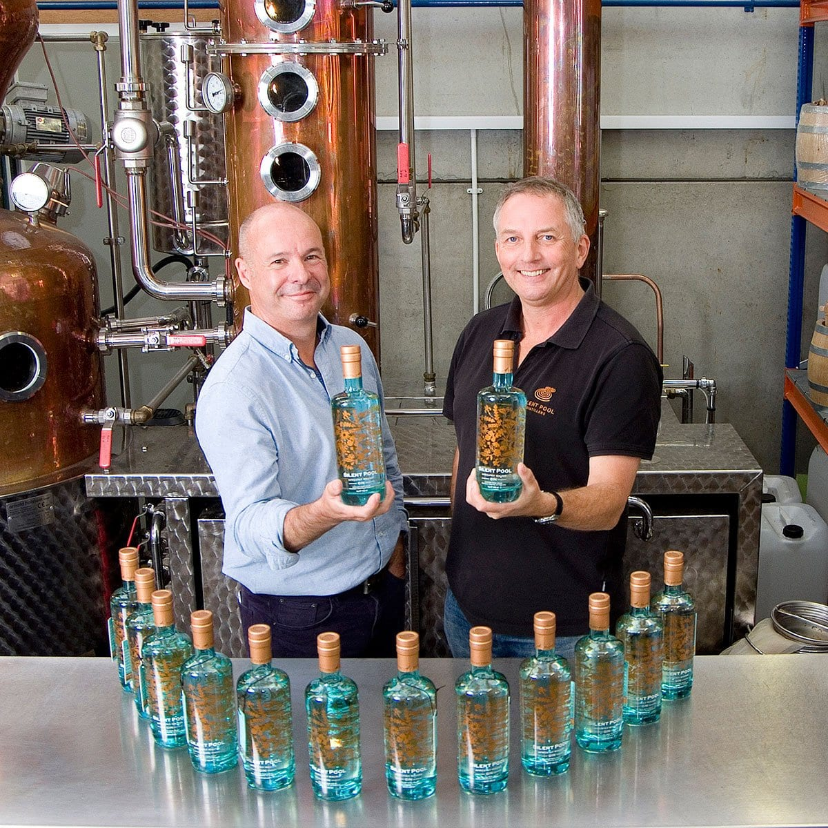 James and Ian - Directors at Silent Pool Distillers