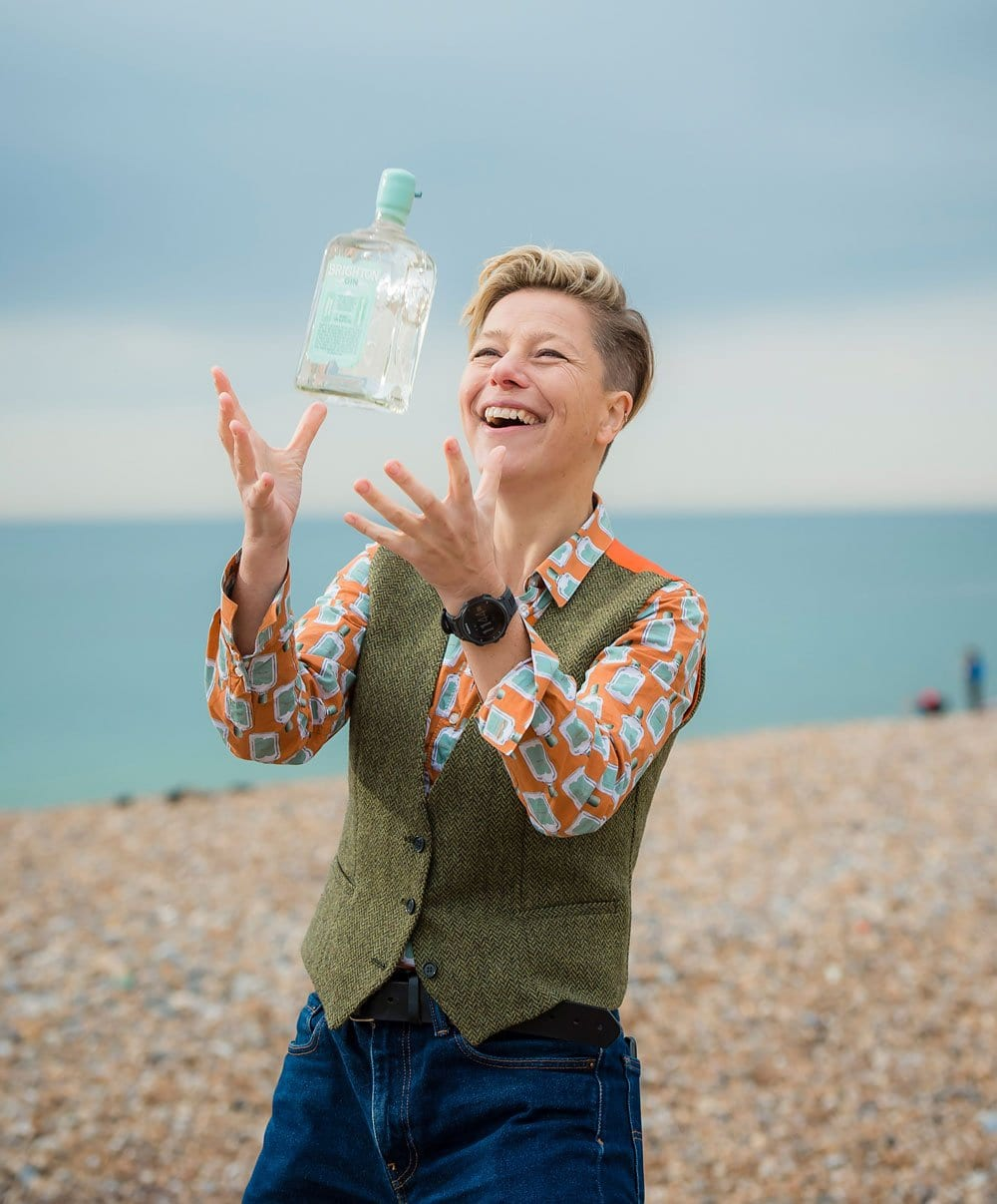 Kathy Caton, Founder and Managing Director of Brighton Gin