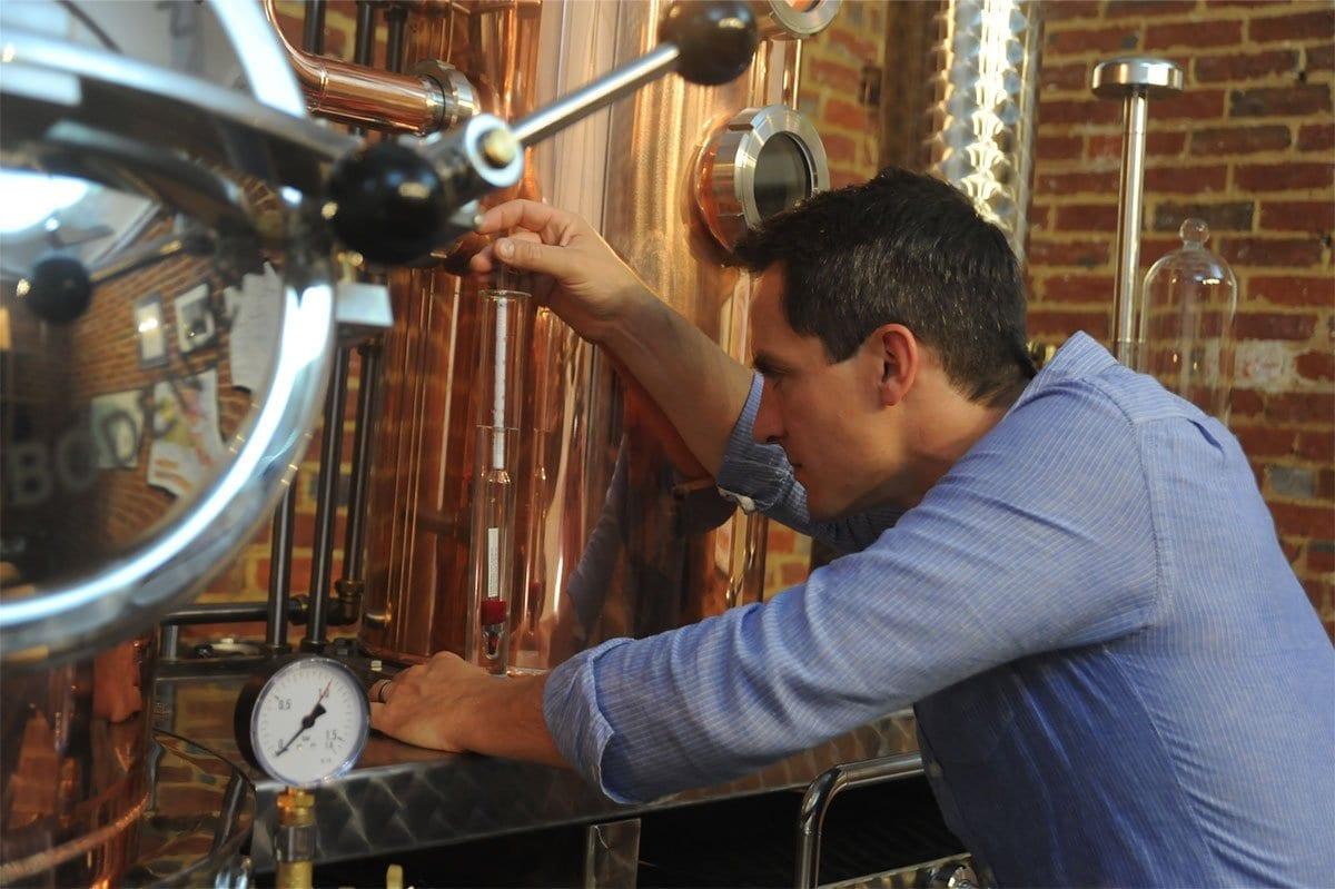 Will Edge, Founder of Greensand Ridge Distillery