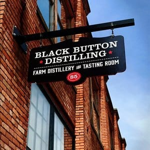 Black Button Gin Distillery in Rochester, New York State