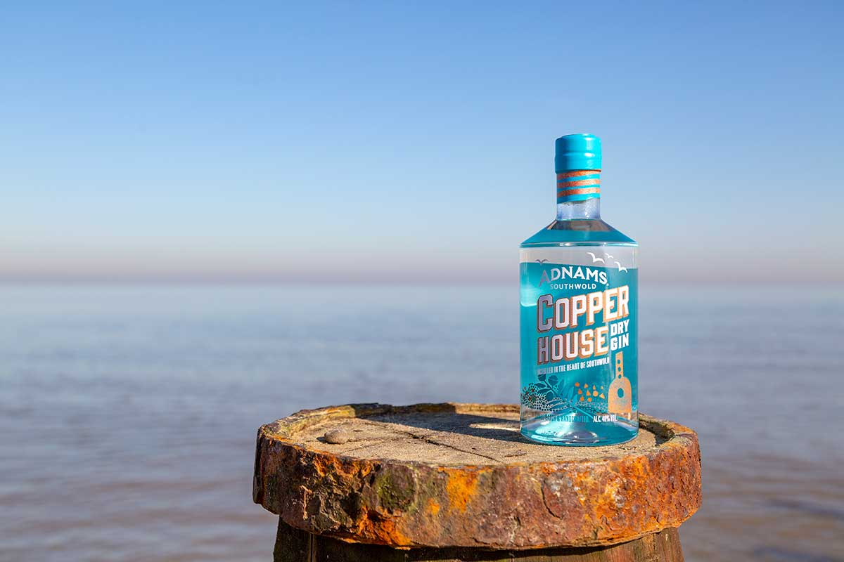 Adnams gin from Southwold