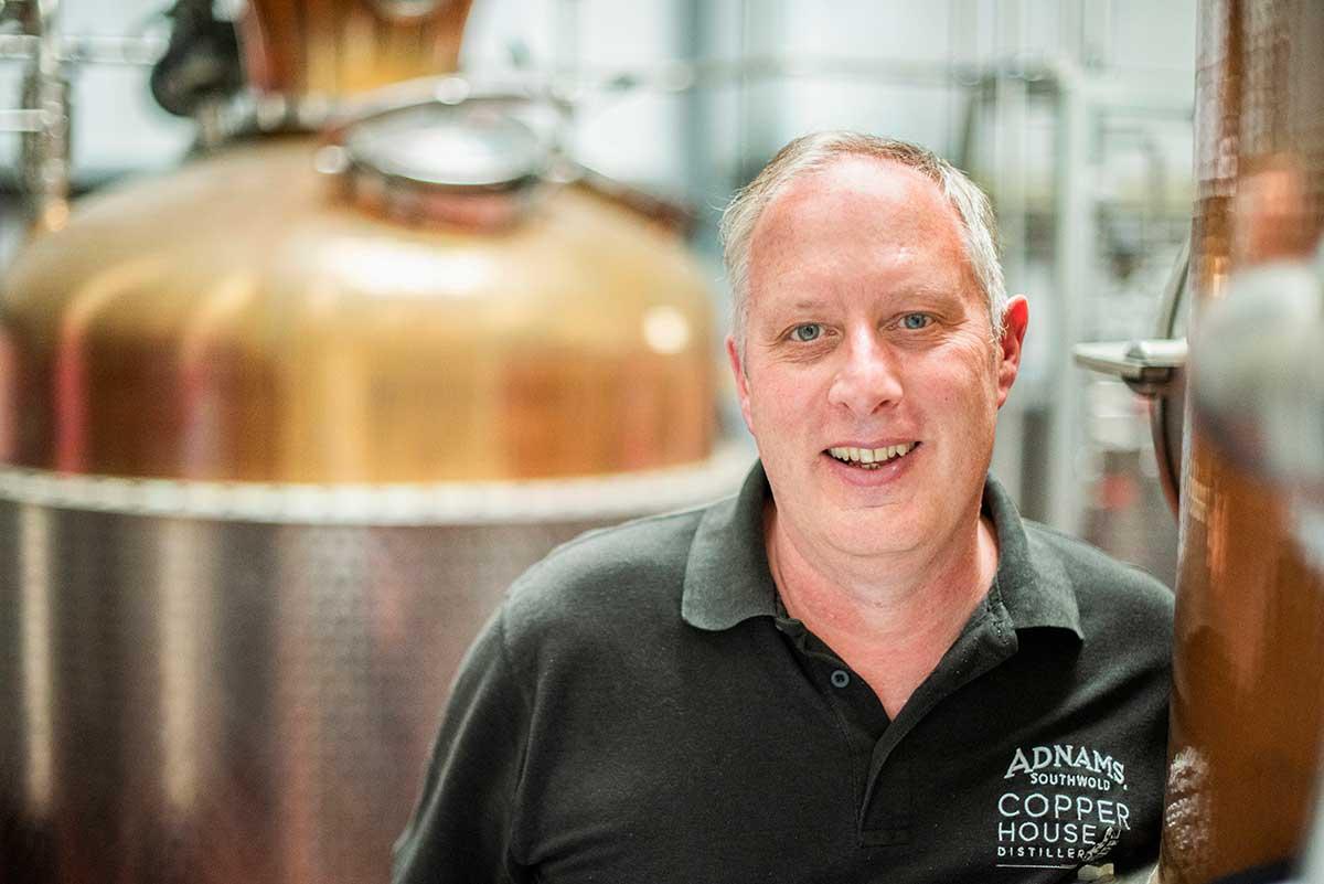 John McCarthy, Adnams Gin Master Distiller