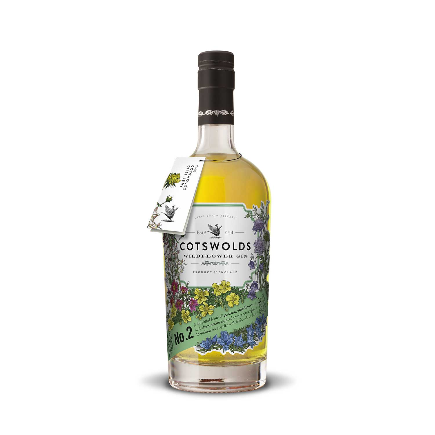 Cotswold Wildflower No.2 Gin Bottle