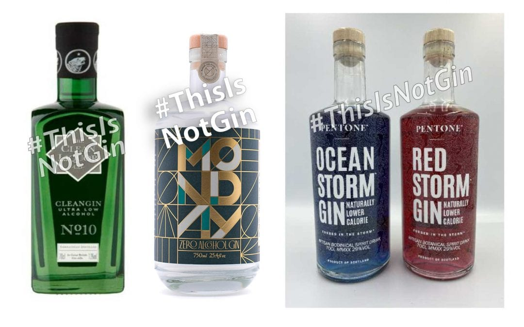 Guidelines for businesses creating low or no alcohol drinks intended to imitate Gin