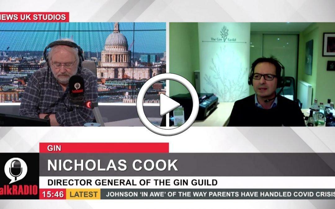 Nicholas Cook talks with Tim Parry on talkRADIO
