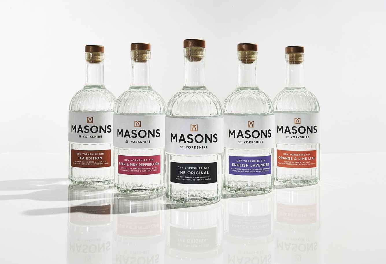 Masons Gin Range 2021