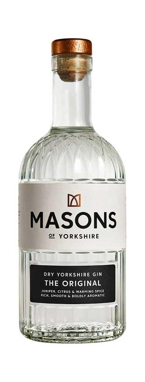 Masons Original Gin Bottle