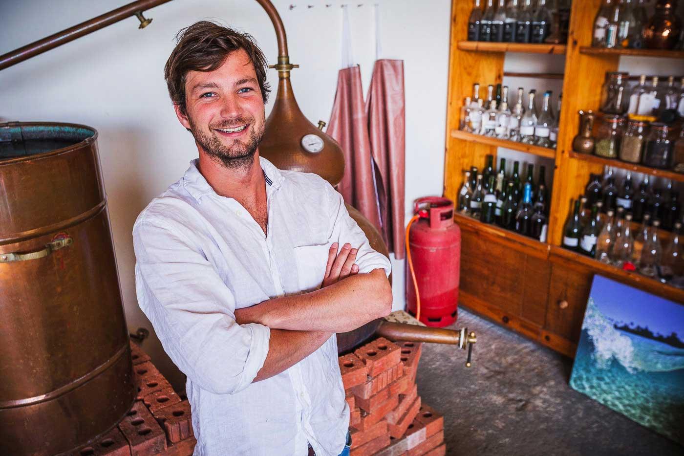 Tarquin Leadbetter from Southwestern Distillery